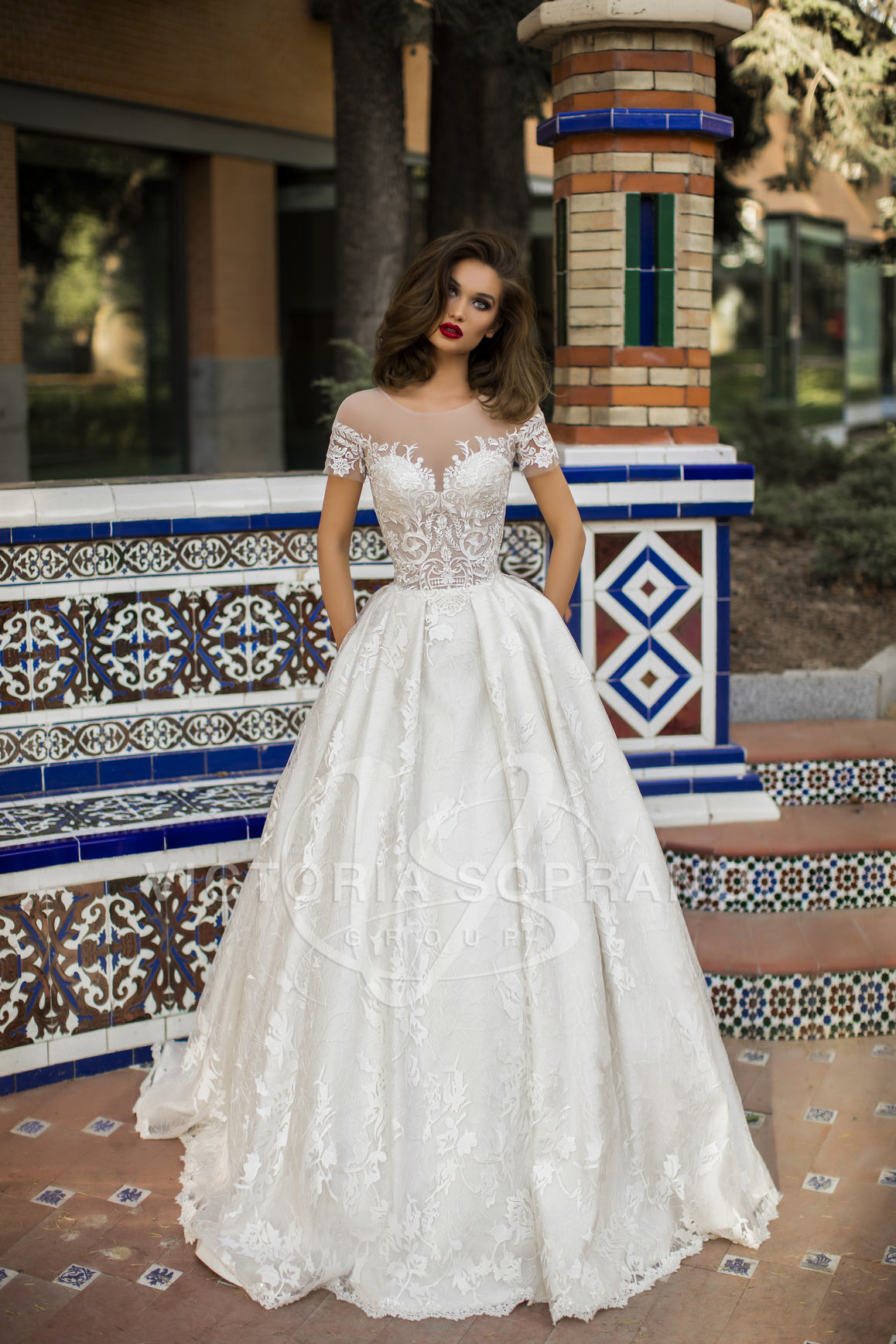 Elegant Wedding Dress 16918 Vivian From The One Collection
