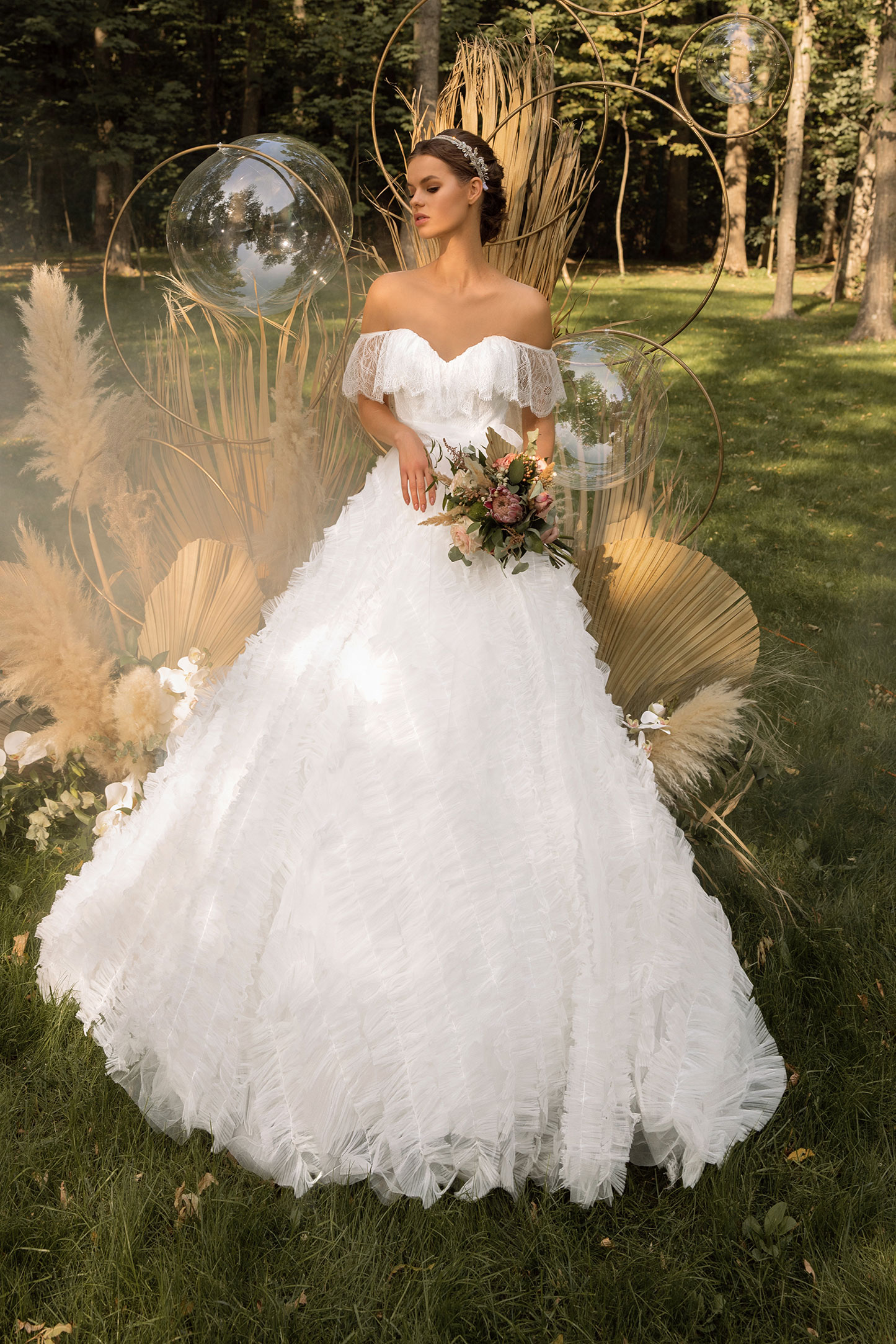 -Wedding-Dress-With-Embroidered-Tulle