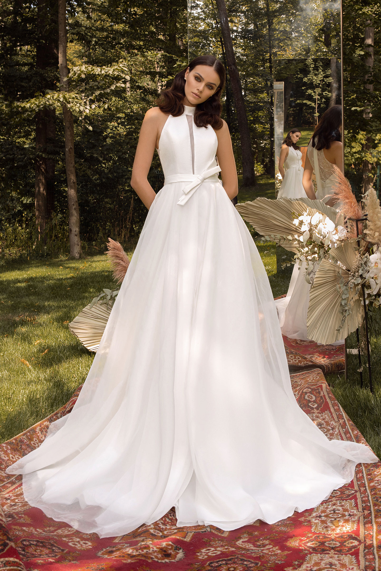 Cape-Skirt-Wedding-Dress