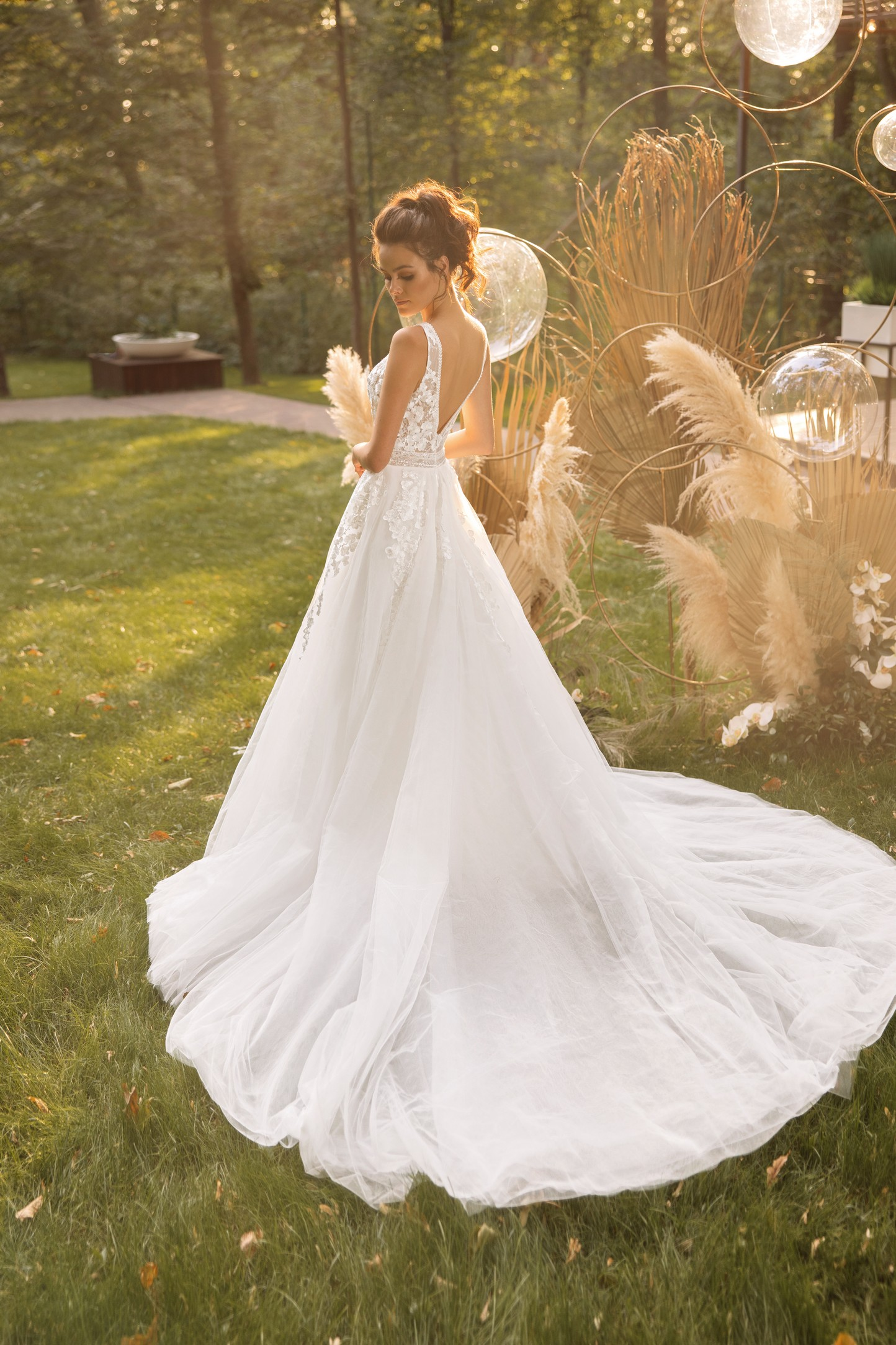 classic and modern off the shoulder ball gown by collection victoria soprano