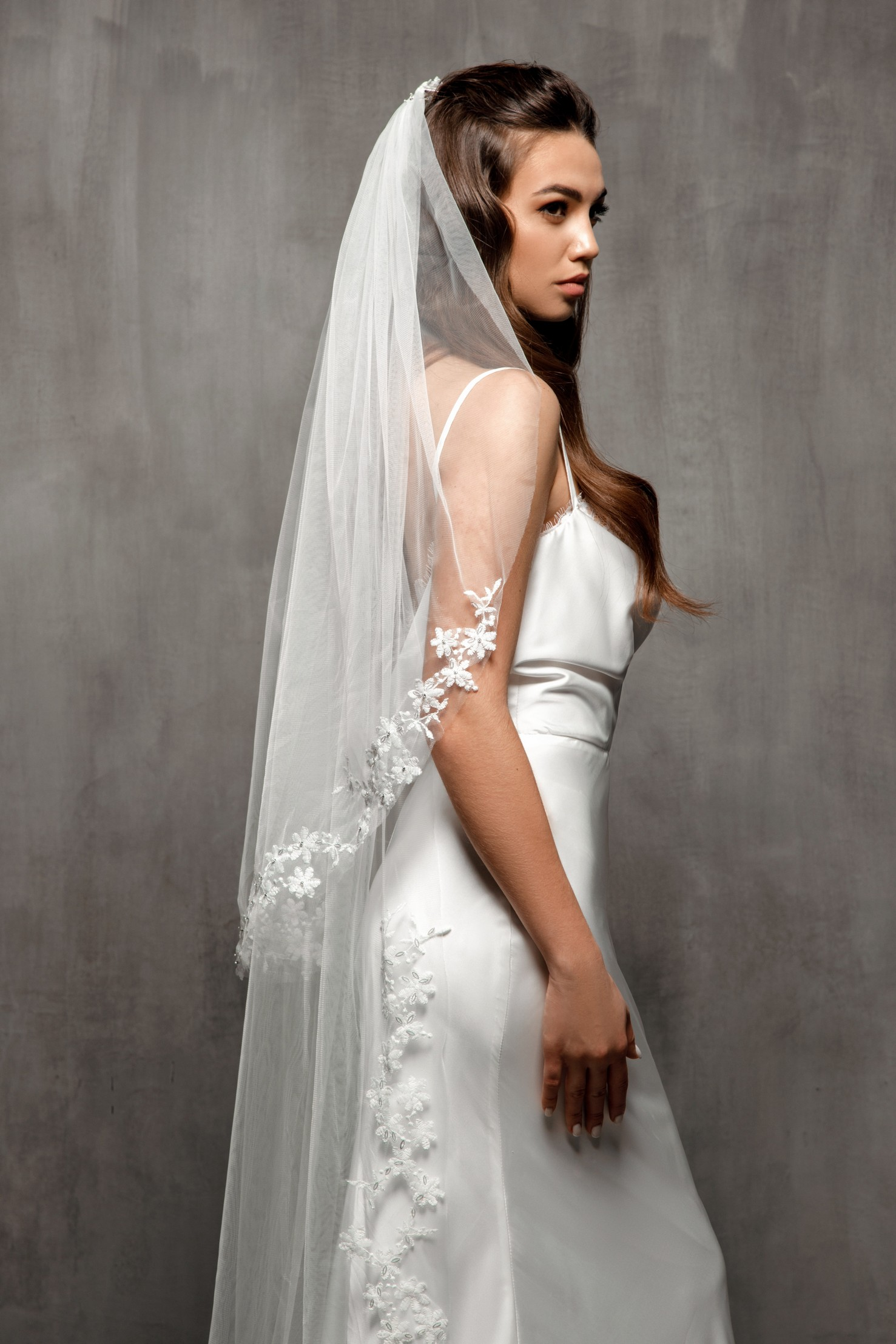 Long Wedding Veil VS-2020-07