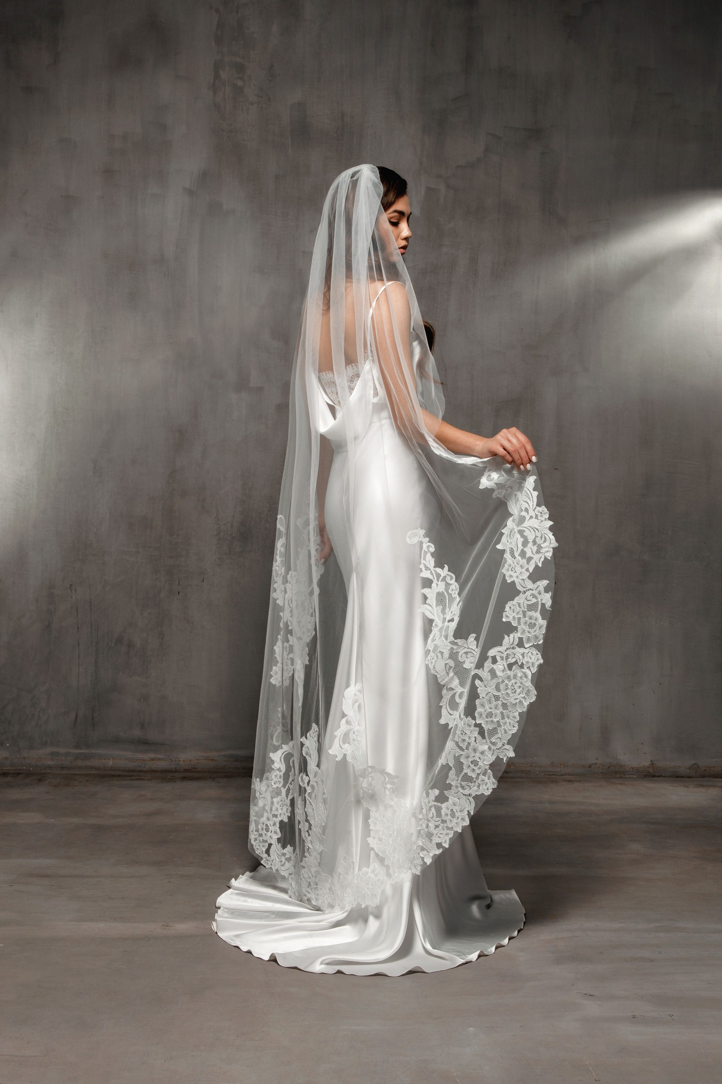 Long Wedding Veil VS-2020-19